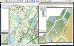 Meuse gridded maps: topo map and LiDAR DEM